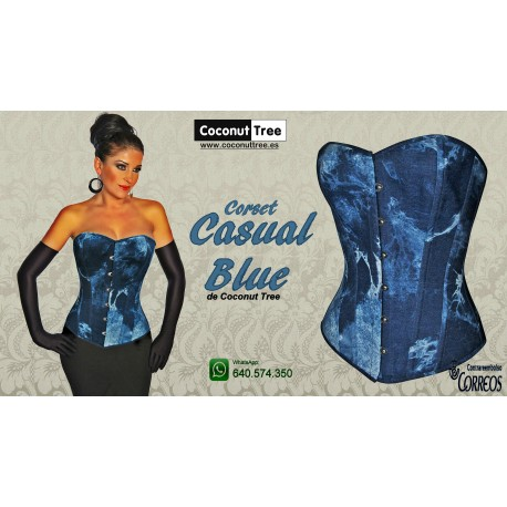 Corset Casual Blue